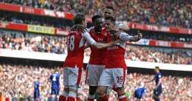 Gunners shoot down Manchester United