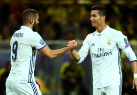 Another Champions League hat trick for Ronaldo