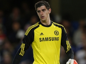 Thibaut Courtois content at Chelsea