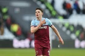 David Moyes speaks on Declan Rices future