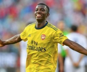 Eddie Nketiah discusses his Arsenal future