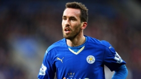 Christian Fuchs signs new Leicester deal