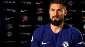 Olivier Giroud reveals his Premier League ambitions with Chelsea
