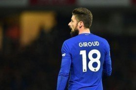 Olivier Giroud admits Chelsea condition is not ideal