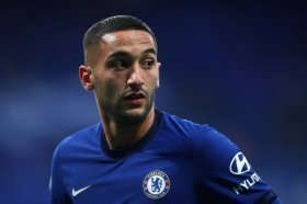 Frank Lampard provides fresh update on Hakim Ziyech ahead of Manchester City clash