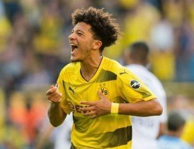 Jadon Sancho Happy at Borussia Dortmund Amid PSG Transfer Rumours