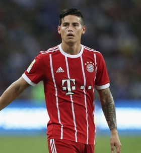 Bayern Munich boss responds to James Rodriguez link with Arsenal
