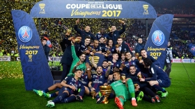 PSG beat Monaco to win French League Cup