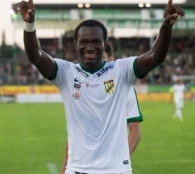 West Ham tracking Ghanaian forward Raphael Dwamena