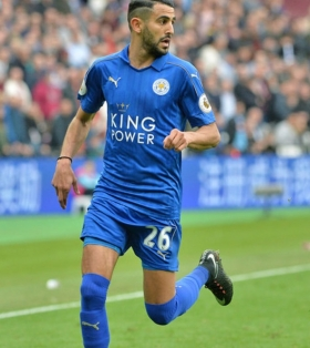 Arsenal facing competition for Mahrez