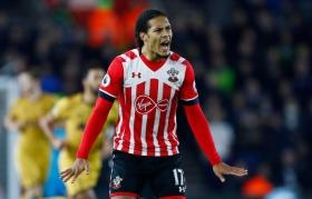Van Dijk hoping to force Liverpool move
