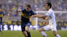 Chelsea scout Boca Juniors youngster