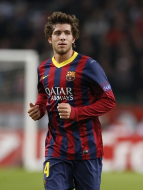 Pep Guardiola wants Barcelonas Sergi Roberto
