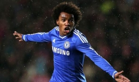 Antonio Conte confident of Willian stay