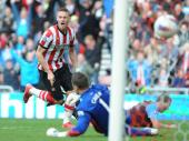 Sunderland share points with Aston Villa