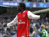 Adebayor brace seals win