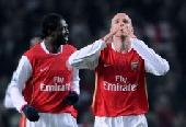 Arsenal extend advantage